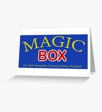 Magic Box - Buffy, The Vampire Slayer Greeting Card