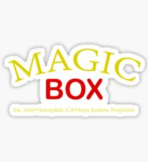 Magic Box - Buffy, The Vampire Slayer Sticker