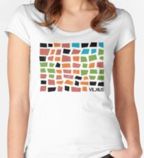 Vilnius Women's Fitted Scoop T-Shirt