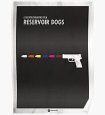 Reservoir Dogs Minimales Filmplakat Poster