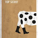 «Top Secret Minimal movie Poster» de quimmirabet