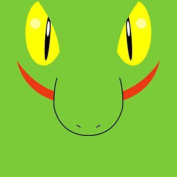 Pokemon - Treecko / Kimori by zefiru
