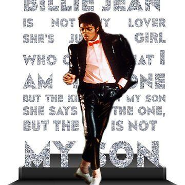 MJ - Billie Jean by retropopdisco