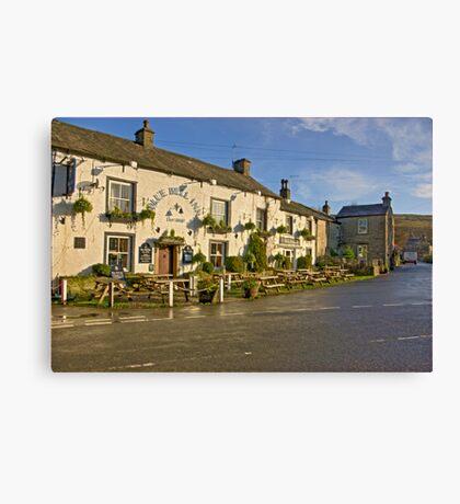 Blue Bell Inn -Kettlewell Canvas Print