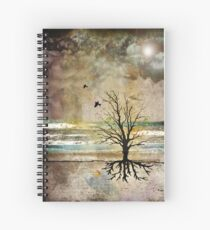 Migrating as Fall arrives... Spiral Notebook
