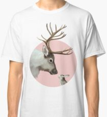 reindeer and rabbit Classic T-Shirt