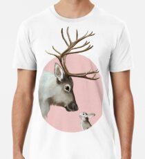 reindeer and rabbit Premium T-Shirt