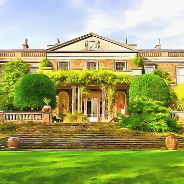 Mount Stewart, Ireland. (Painting) by cmphotographs