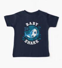 Baby Shark Boy mit Schnuller Baby T-Shirt
