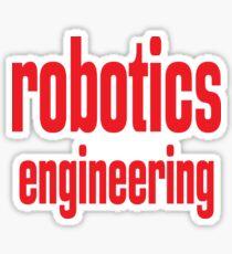 Robotics Engineering Sticker