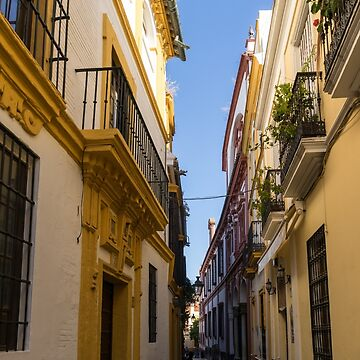 Gallivanting Around Seville is Pure Charm - Houses in Andalusian Yellow by GeorgiaM