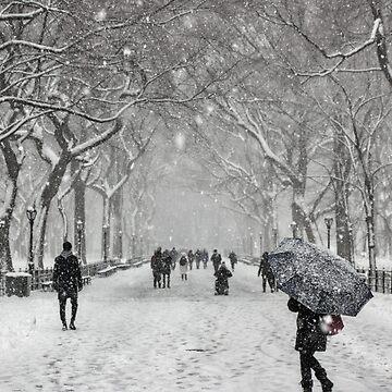 New York Winter by dawnmvd