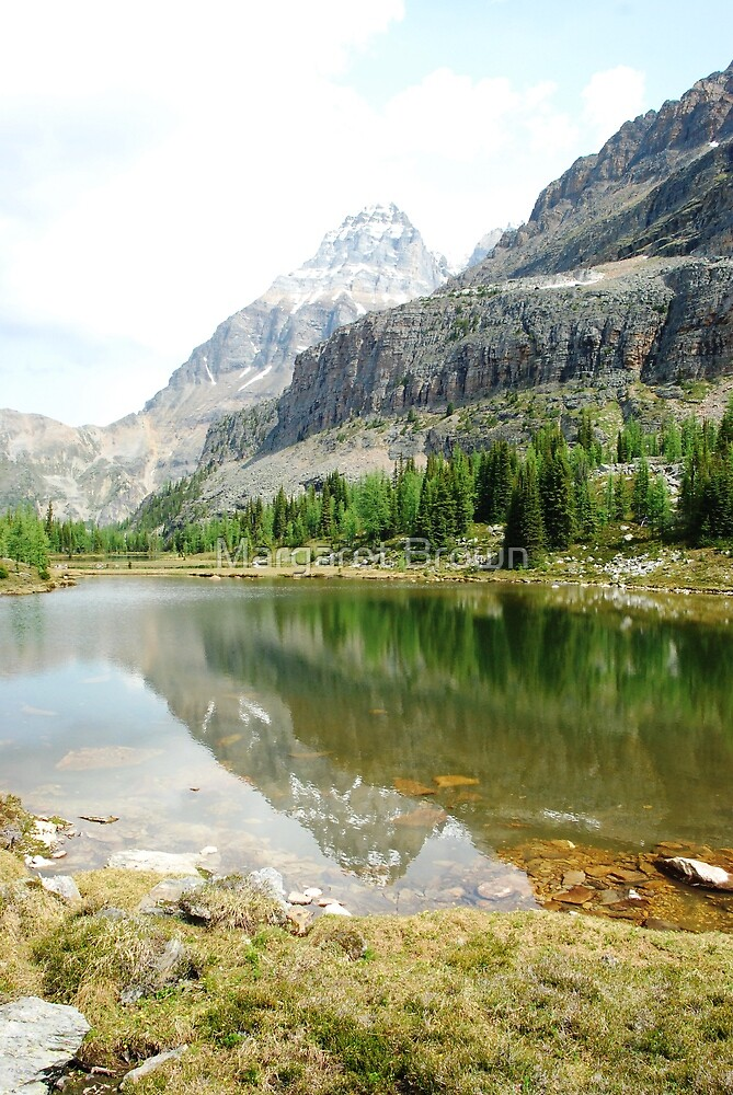 Lake O'Hara, Canada by Margaret Brown