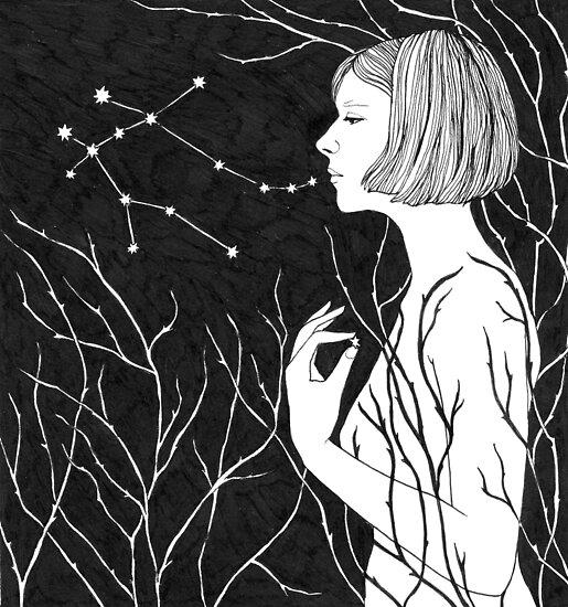Under stars by Aleksandra Kabakova