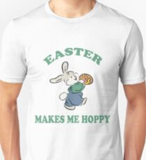 "Easter ""Easter Makes Me Hoppy"" T-Shirt"