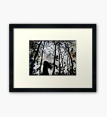 Dark Walk Framed Print