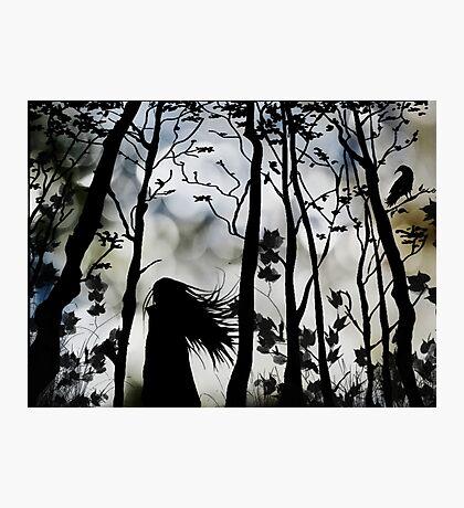 Dark Walk Photographic Print