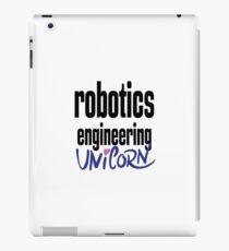 Robotik Engineering Einhorn iPad-Hülle & Klebefolie