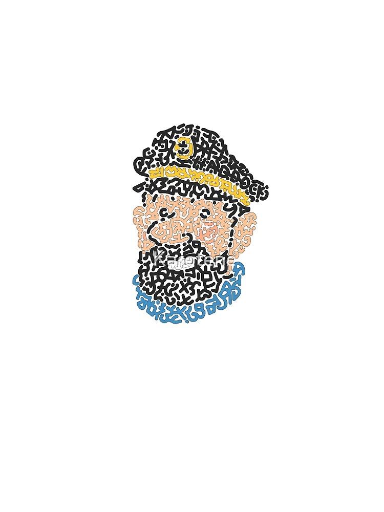 Captain Haddock by Karotene