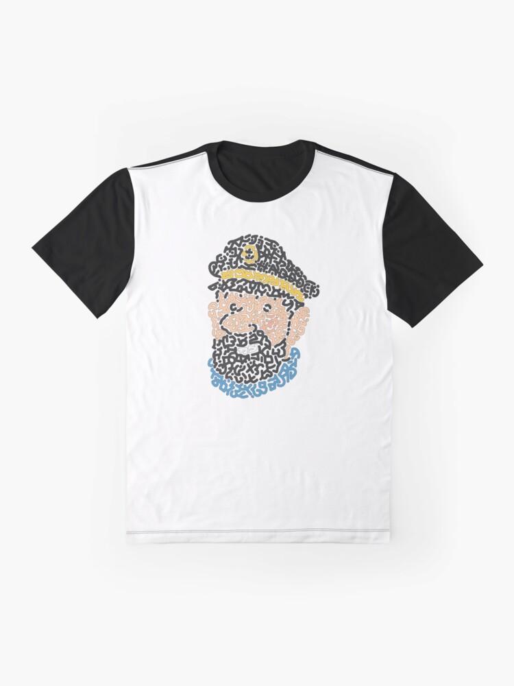 Alternate view of Captain Haddock Graphic T-Shirt