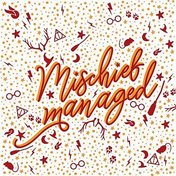 Mischief Managed v2 by missphi