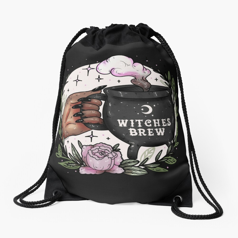 Witches Brew Drawstring Bag