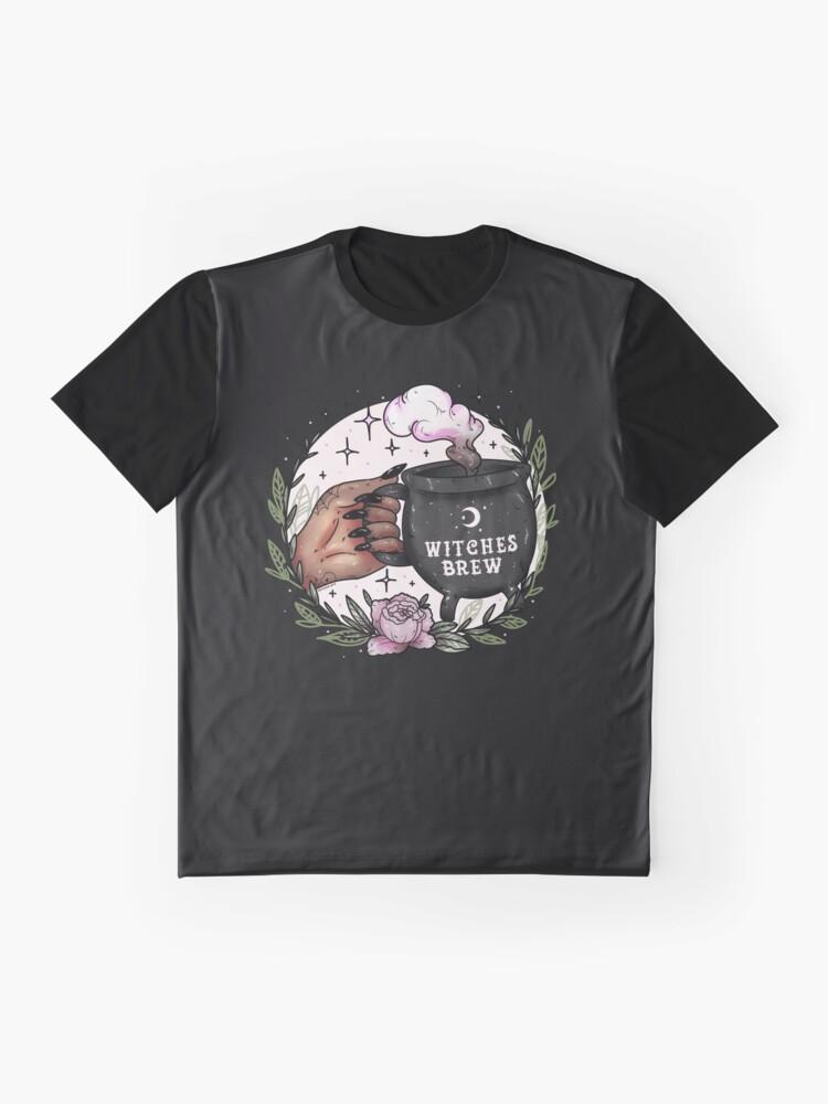 Alternative Ansicht von Hexengebräu Grafik T-Shirt