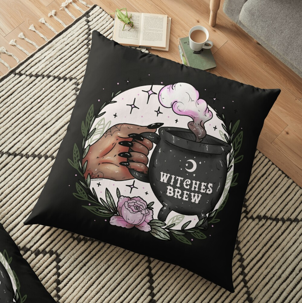 Witches Brew Floor Pillow