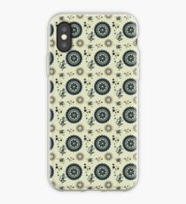 Discs of lace and fields of gold iPhone Case