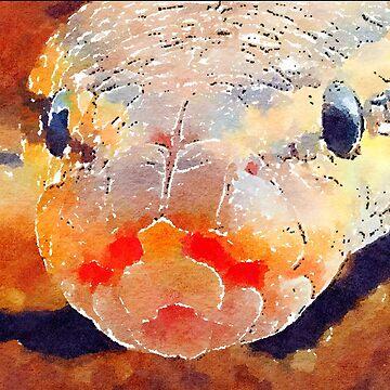 Snake Head by miniverdesigns