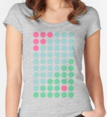 Dot DoT Dot pink outlaw Fitted Scoop T-Shirt