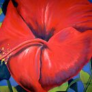 Red Hibiscus by Marita McVeigh