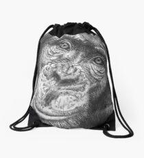 Monkey Business Drawstring Bag