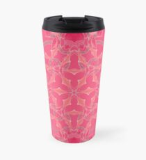 Red Over Twist Fall Into Winter Design Collection of Green Bee Mee Travel Mug