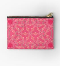 Red Over Twist Fall Into Winter Design Collection of Green Bee Mee Studio Pouch