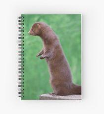 My Beautiful Fur Coat Spiral Notebook