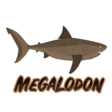 Megalodon gift basking shark monster primeval extinct carnivore fossil by ArtOfCopenhagen