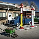 Route 66 Gas Station by Patricia Montgomery
