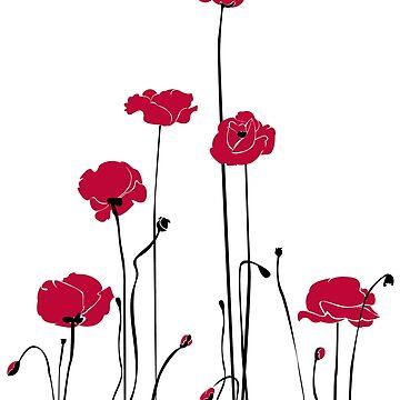 Poppy in the field by IrenaW