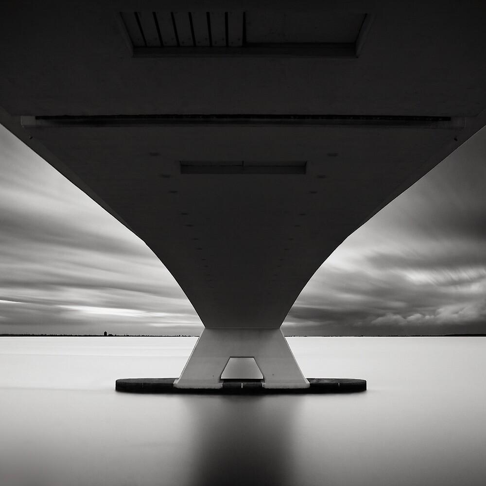 Bridge Study III by Joel Tjintjelaar