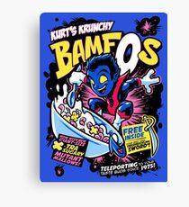 Kurt's Krunchy BamfOs Canvas Print