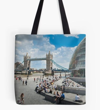 London City Hall and Tower Bridge Tote Bag