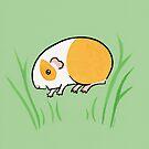Joyful Jumping Popcorning Guinea pig! by zoel