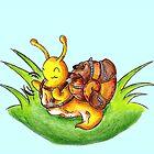 Little Robust Traveler by KOKeefeArt