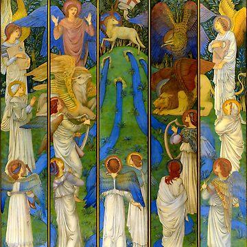 "Edward Burne-Jones ""Paradise"" by ALD1"