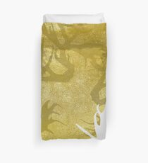 Golden Horns Duvet Cover
