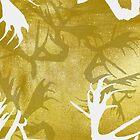 Golden Horns by patternbyjensen