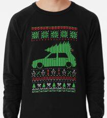 Golf 2 GTI MK2 Ugly Christmas Sweater XMAS Lightweight Sweatshirt