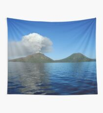 a beautiful East Timor landscape Wall Tapestry