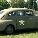 1940s Military Car Green by schiabor